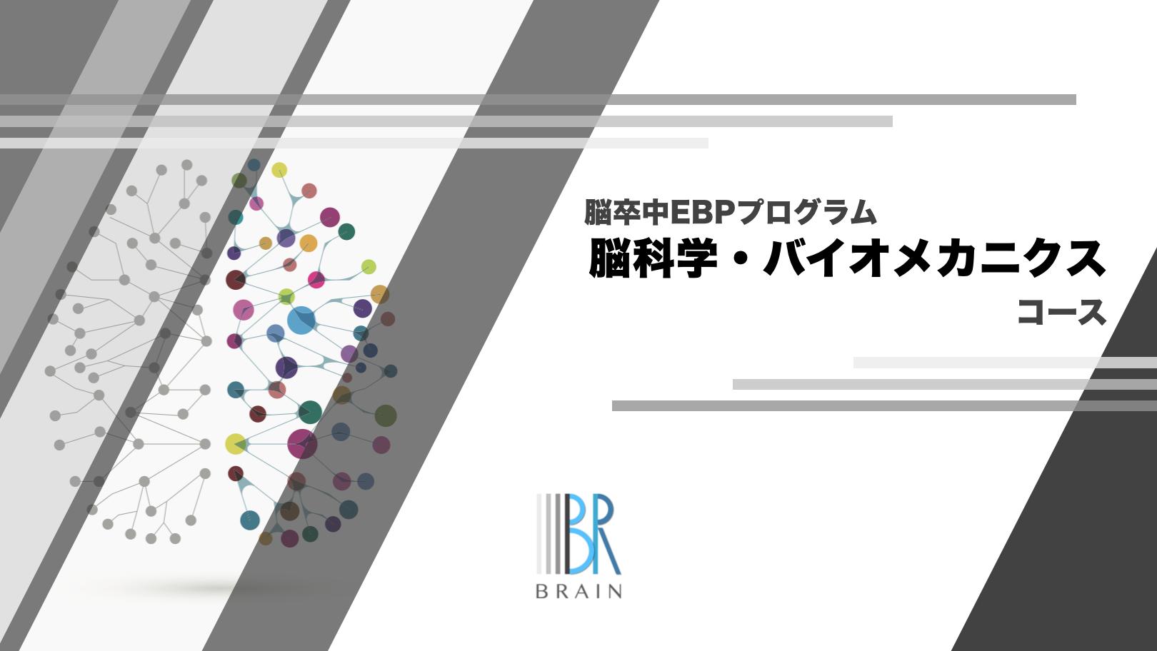 脳卒中EBPプログラム【脳科学・バイオメカニクスコース】